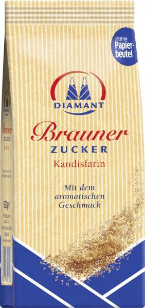 Diamant Brauner Zucker Kandisfarin