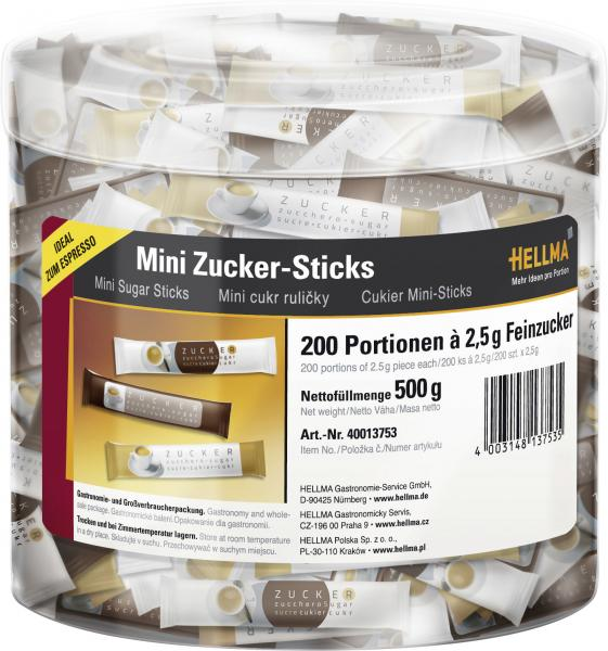 Hellma Mini Zucker-Sticks