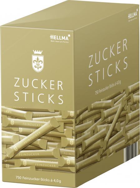 Hellma Zucker-Sticks Goldline