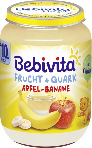 Bebivita Frucht & Quark Apfel-Banane