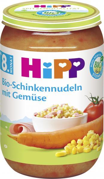 Hipp Bio-Schinkennudeln mit Gemüse