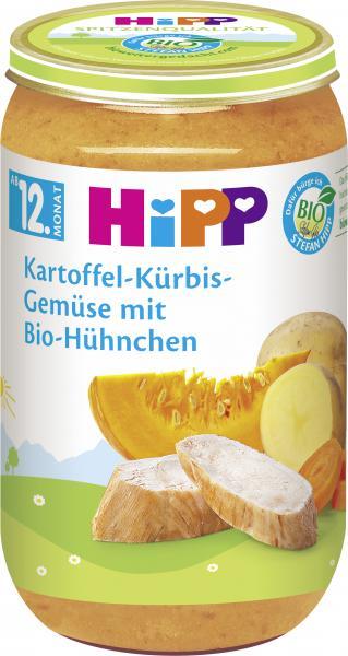 Hipp Kartoffel-Kürbis-Gemüse mit Bio-Hühnchen