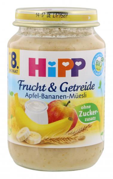 Hipp Frucht & Getreide Apfel-Banane-Müsli