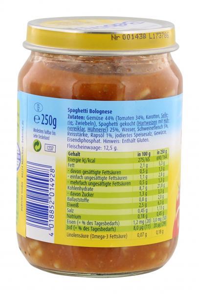 Bebivita Kinderküche Spaghetti Bolognese