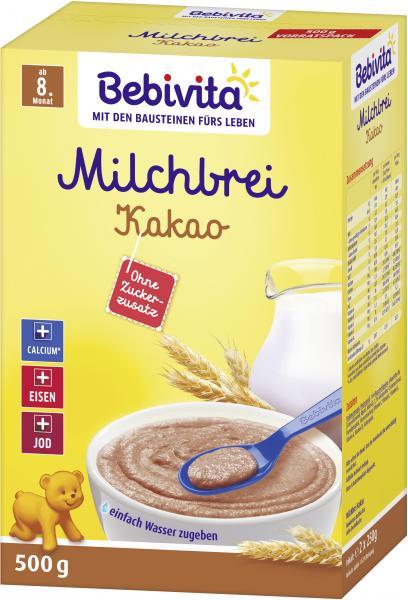 Bebivita Milchbrei Kakao