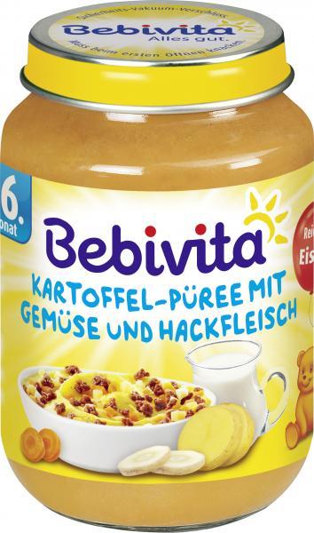 Bebivita Kartoffel-Püree mit Gemüse und Hackfleisch