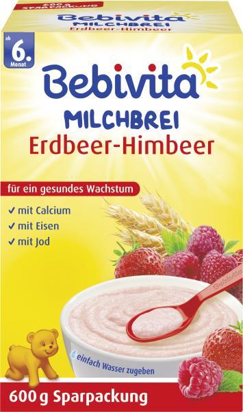 Bebivita Milchbrei Erdbeer-Himbeer