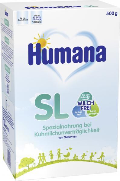 Humana SL Trinknahrung Milchfrei von Geburt an