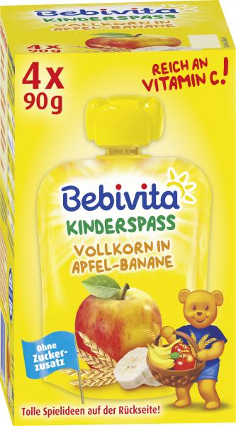 Bebivita Kinder-Spass Vollkorn in Apfel-Banane