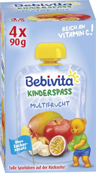 Bebivita Kinderspass Multifrucht