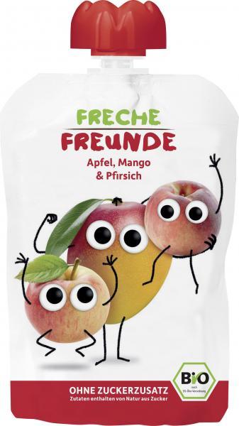 Freche Freunde Quetschie Apfel-Mango-Pfirsich