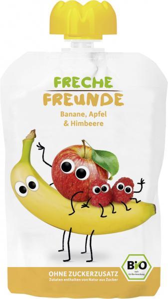 Freche Freunde Quetschie Apfel-Banane-Himbeere