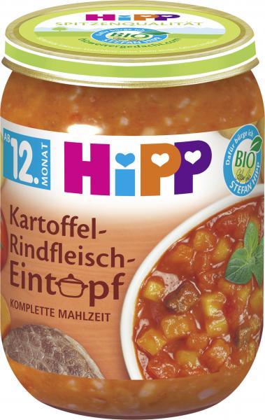 Hipp Kartoffel-Rindfleisch-Eintopf