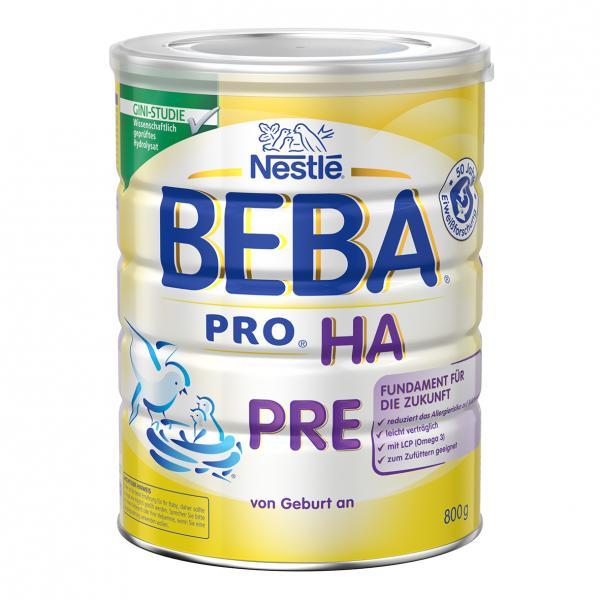 Nestlé Beba Pro HA Pre Anfangsnahrung von Geburt an