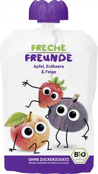 Freche Freunde Quetschie Apfel-Erdbeere-Feige