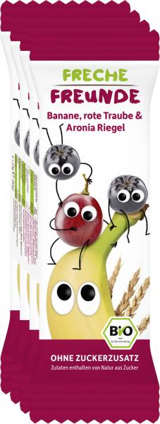 Freche Freunde Fruchtriegel Banane-Rote Traube-Aronia
