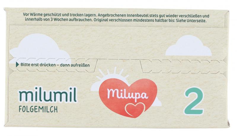 Milupa Milumil 2 Folgemilch nach dem 6. Monat