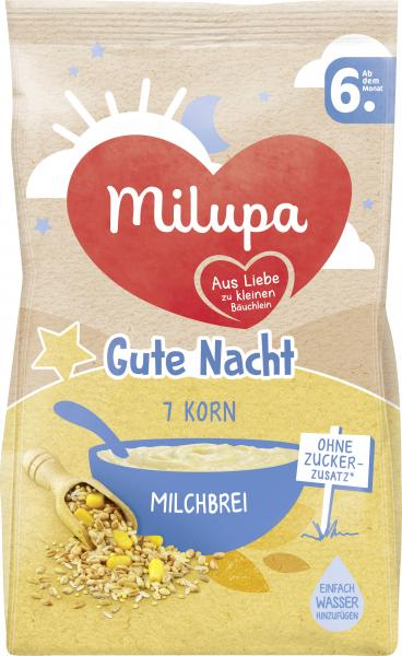 Milupa Gute Nacht Milchbrei 7 Korn