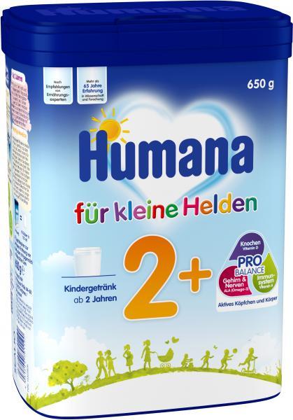 Humana Kindergetränk 2+ Für kleine Helden
