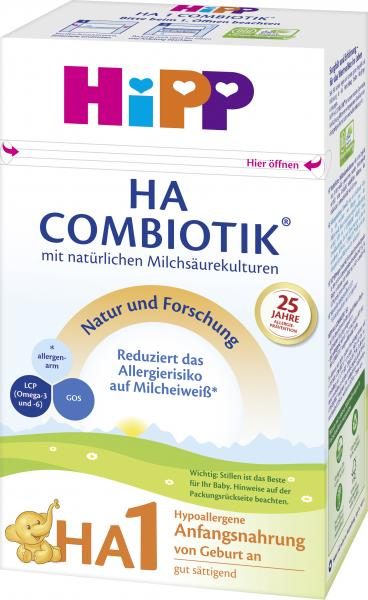 Hipp Bio Combiotik HA 1 Hypoallergene Anfangsmilch