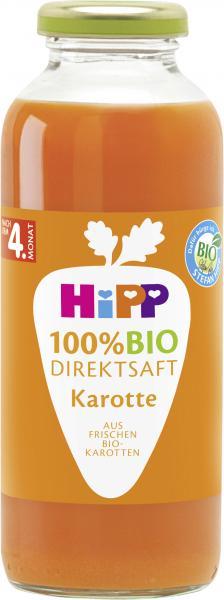 Hipp 100% Bio Direktsaft Karotte