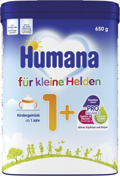 Humana 1+ Kindermilch für kleine Helden