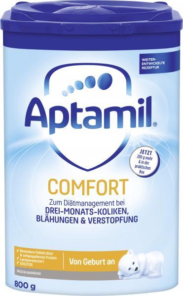 Aptamil Comfort Spezialnahrung von Geburt an