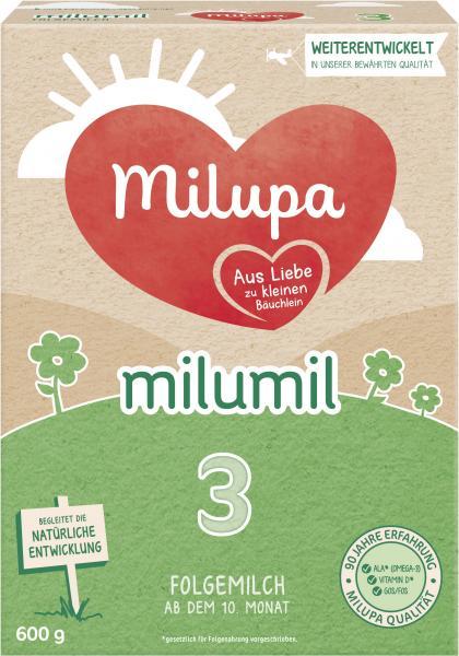 Milupa Milumil 3 Folgemilch ab dem 10. Monat