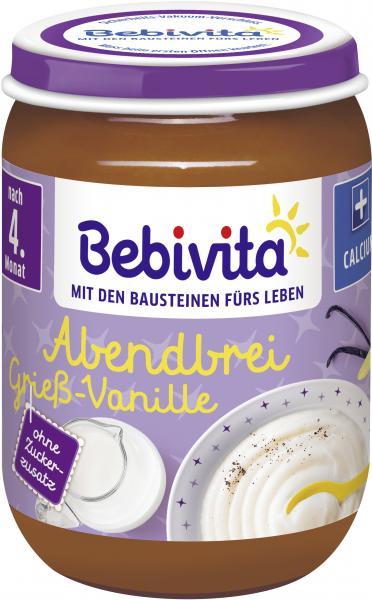 Bebivita Abendbrei Grieß-Vanille