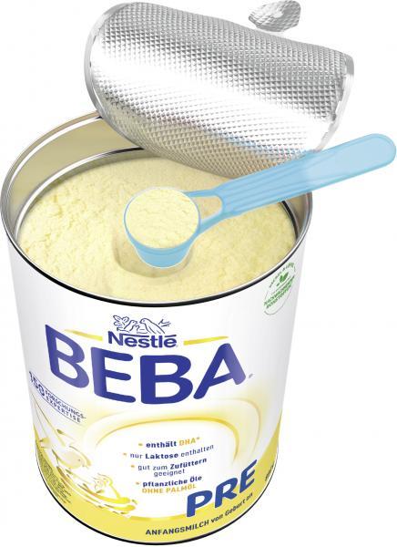 Nestlé Beba Pre Anfangsmilch von Geburt an