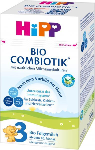 Hipp 3 Bio Folgemilch Combiotik
