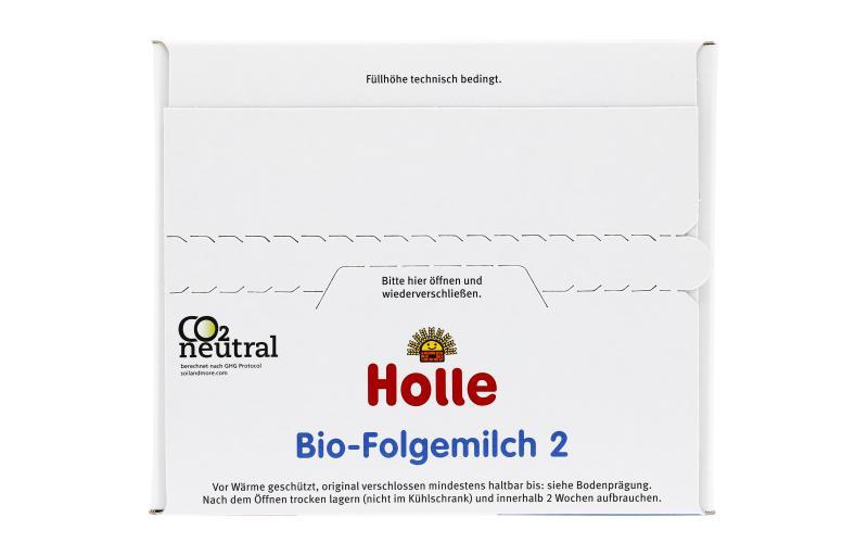 Holle Demeter Bio Folgemilch 2 nach dem 6. Monat