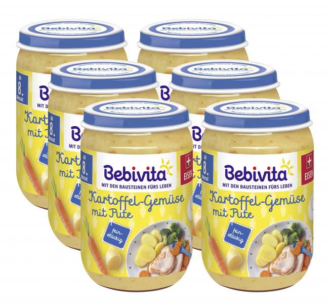 Bebivita Menü Kartoffel-Gemüse mit Pute