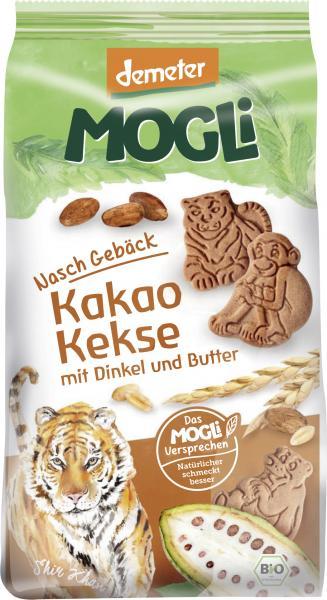 Mogli Demeter Naschgebäck Kakao Kekse mit Dinkel und Butter