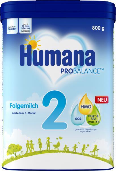 Humana Pro Balance Folgemilch 2