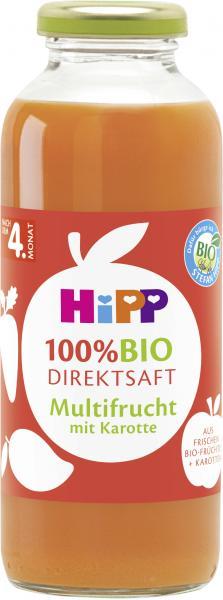 Hipp Bio Direktsaft Multifrucht mit Karotte