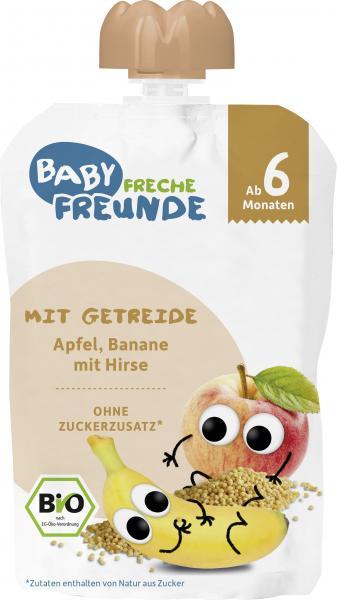 Freche Freunde Quetschie Apfel-Banane mit Hirse