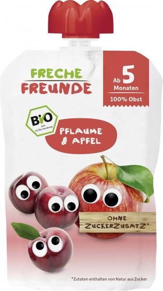 Freche Freunde Quetschie Pflaume & Apfel