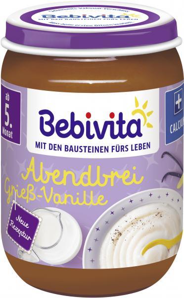 Bebivita Abendbrei Griess-Vanille