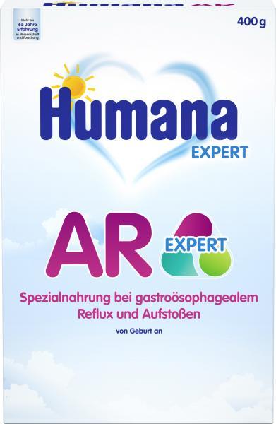Humana Expert AR Spezialnahrung bei gastroösophagalem Reflux und Aufstoßen