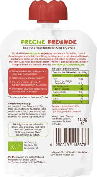 Freche Freunde Quetschie Milder Apfel & Banane