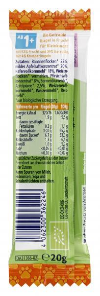 HiPP Müsli Riegel Hafer-Knusper Apfel-Pfirsich