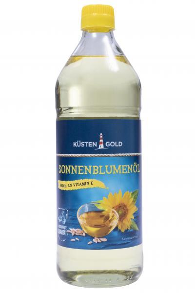 Küstengold Sonnenblumenöl