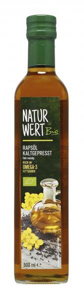 NaturWert Bio Rapsöl kaltgepresst