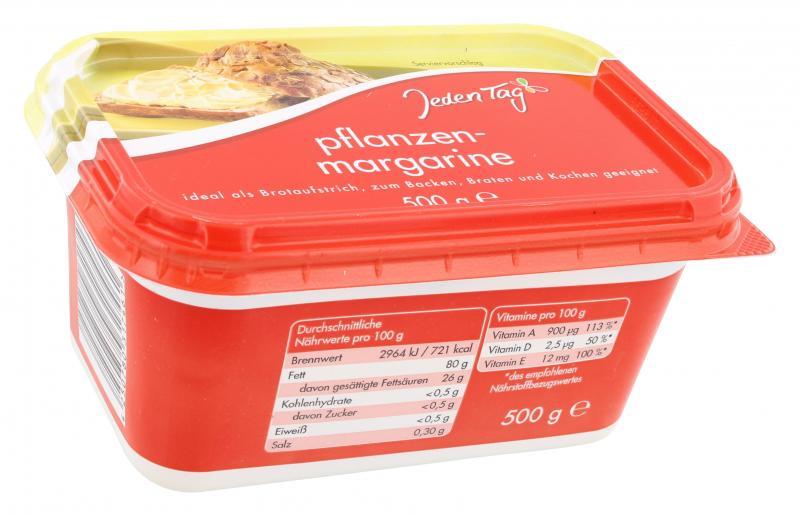 Jeden Tag Pflanzenmargarine