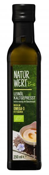 NaturWert Bio Leinöl kaltgepresst