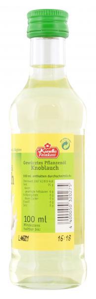 Kunella Gewürztes Pflanzenöl Knoblauch