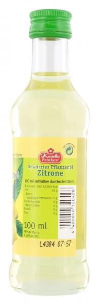 Kunella Gewürztes Pflanzenöl Zitrone