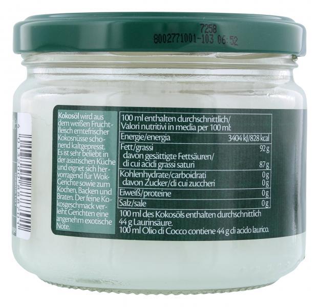 Lien Ying Organic Bio Kokosöl kaltgepresst