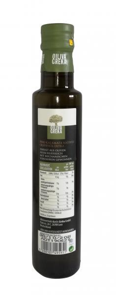Oiliva Greka PDO Kalamata Natives Olivenöl Extra